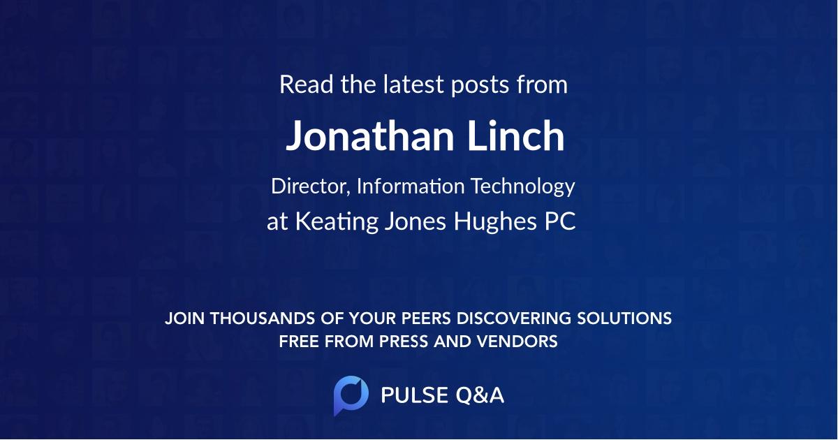Jonathan Linch