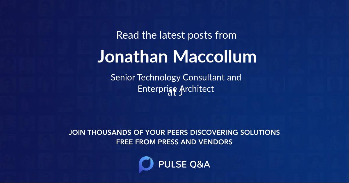 Jonathan Maccollum