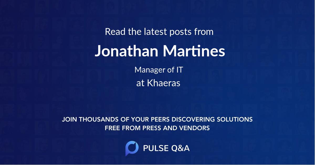 Jonathan Martines