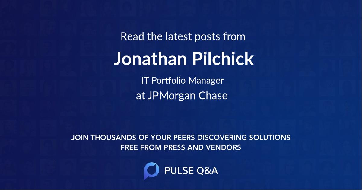 Jonathan Pilchick