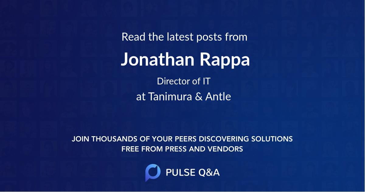 Jonathan Rappa