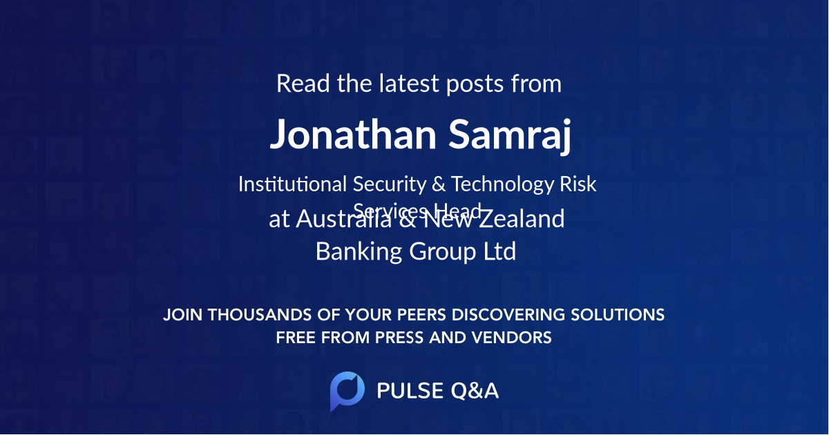 Jonathan Samraj