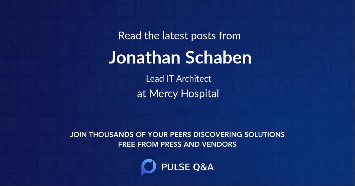 Jonathan Schaben