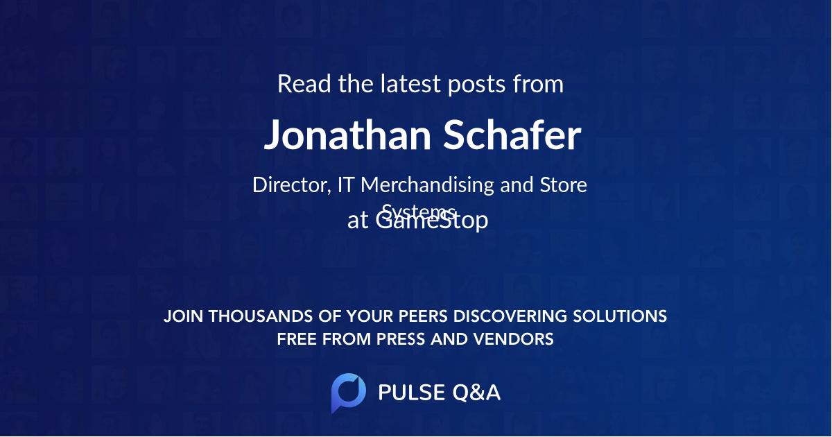 Jonathan Schafer
