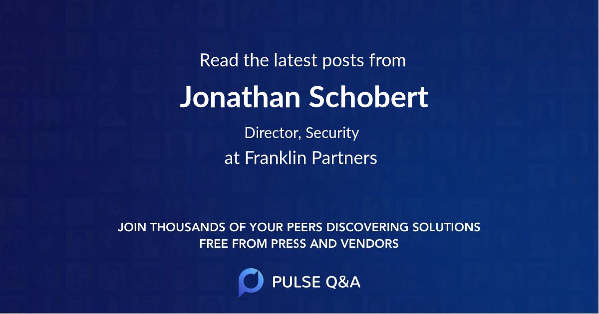 Jonathan Schobert
