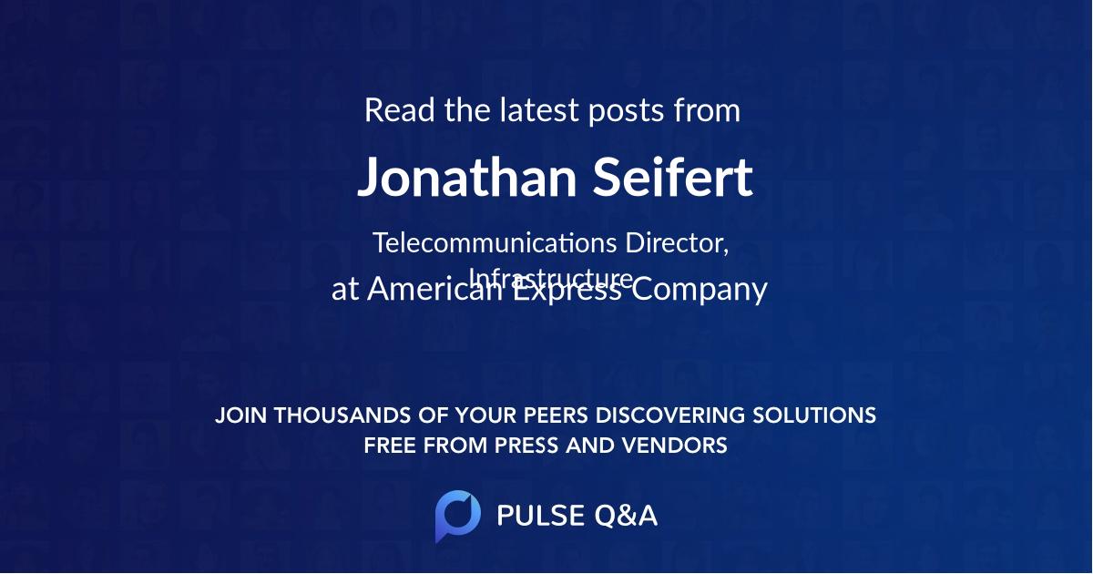 Jonathan Seifert