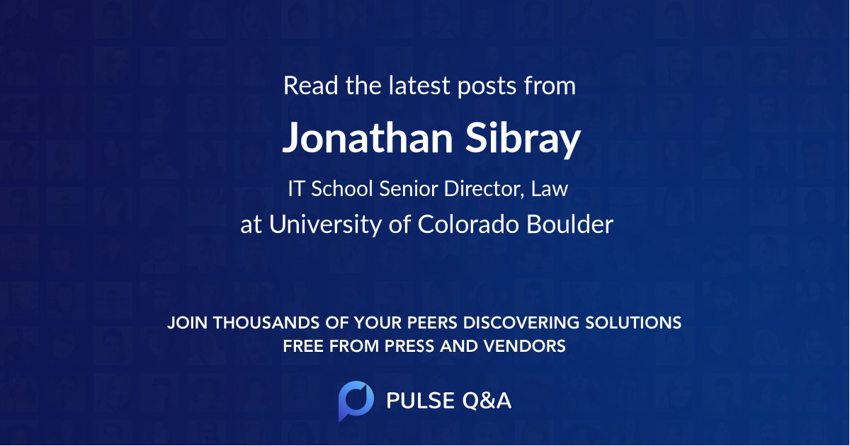 Jonathan Sibray
