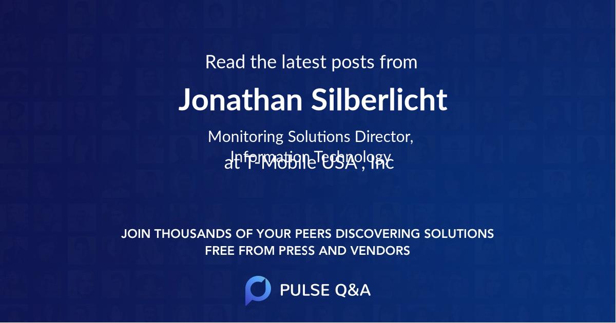 Jonathan Silberlicht
