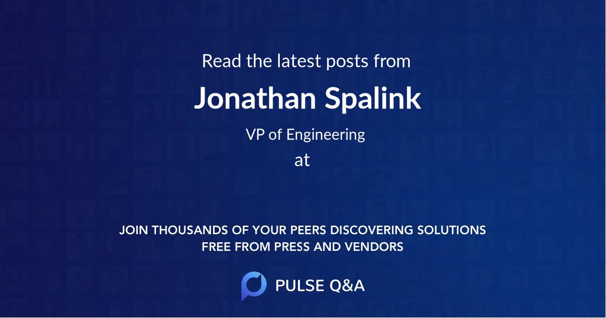Jonathan Spalink