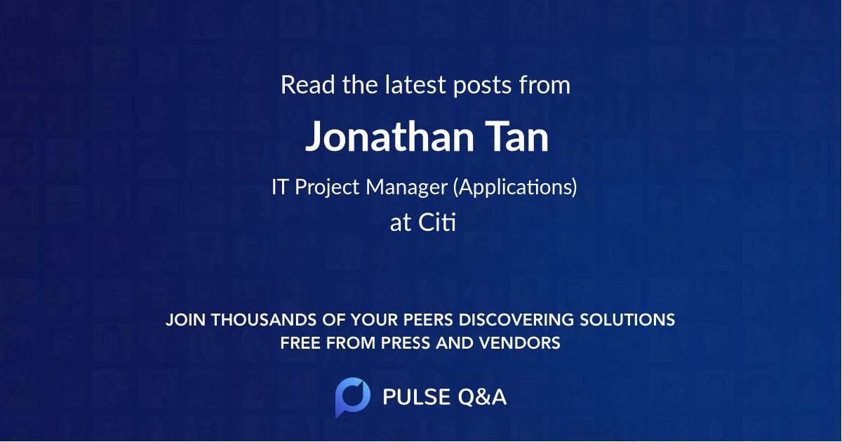 Jonathan Tan