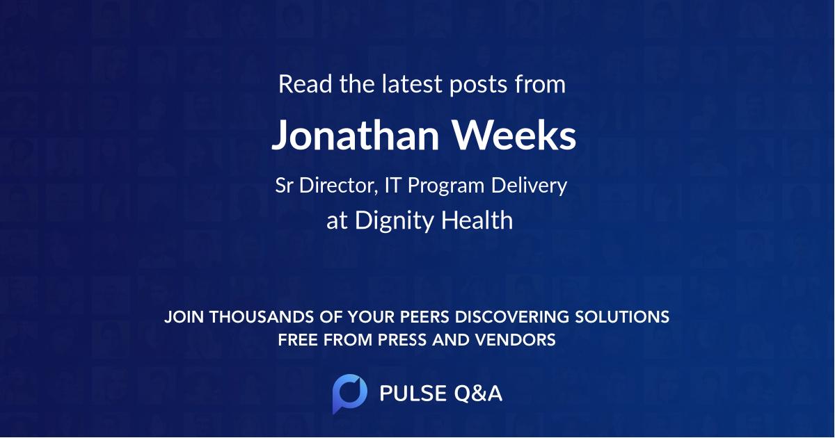 Jonathan Weeks