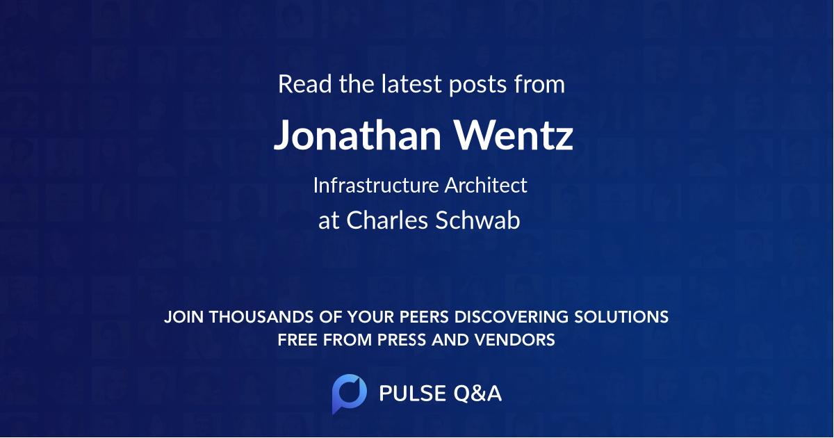 Jonathan Wentz
