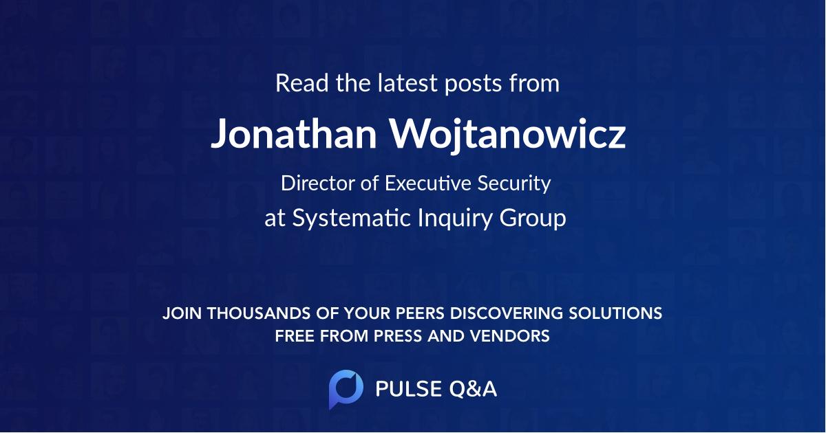 Jonathan Wojtanowicz