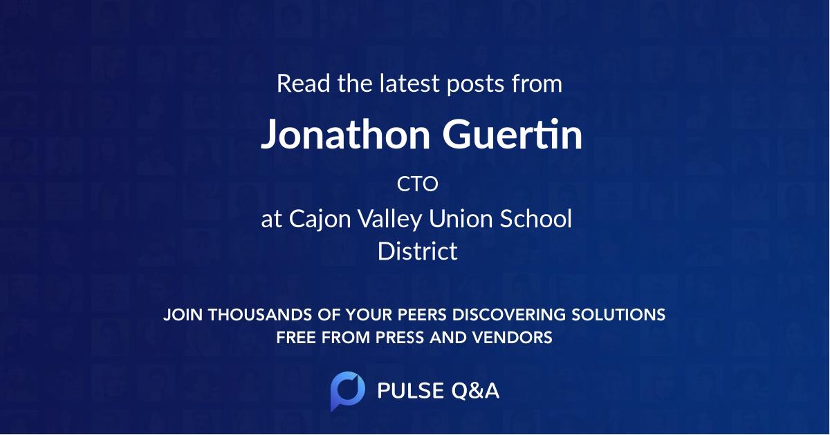 Jonathon Guertin