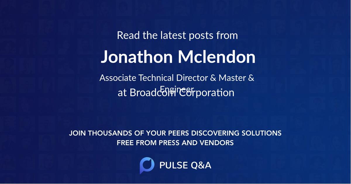 Jonathon Mclendon