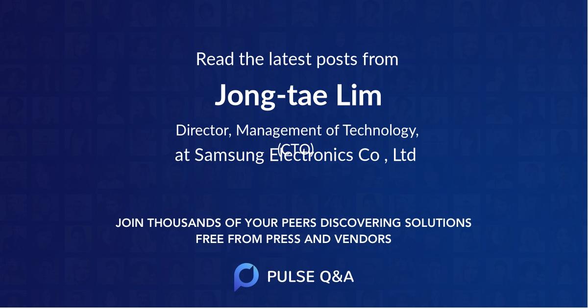 Jong-tae Lim