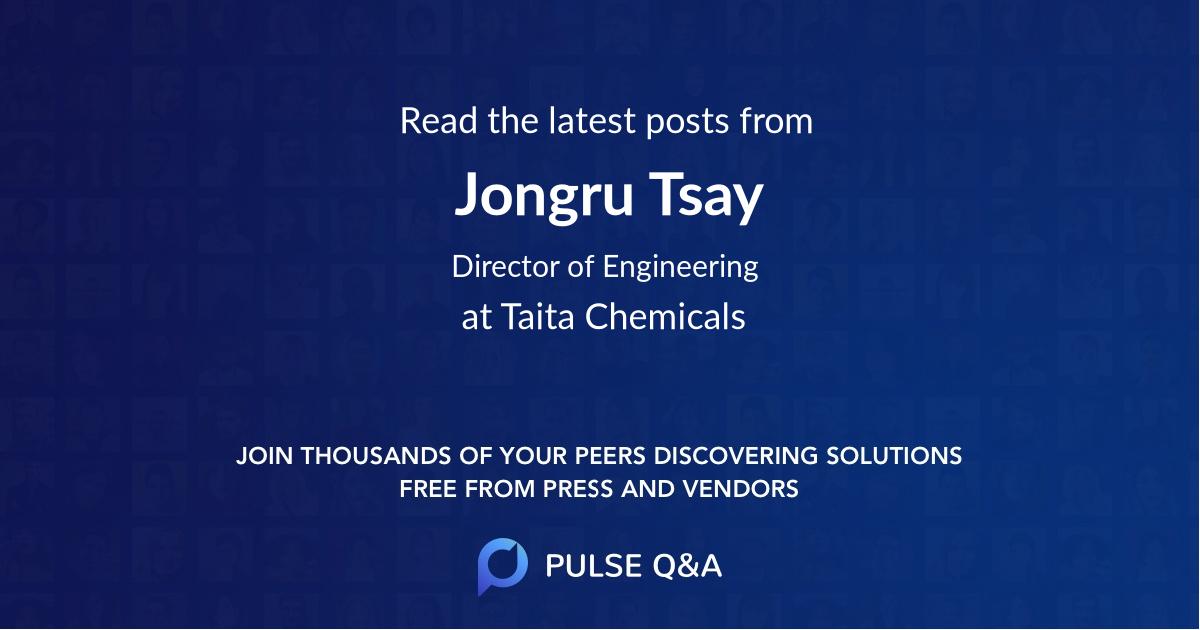 Jongru Tsay