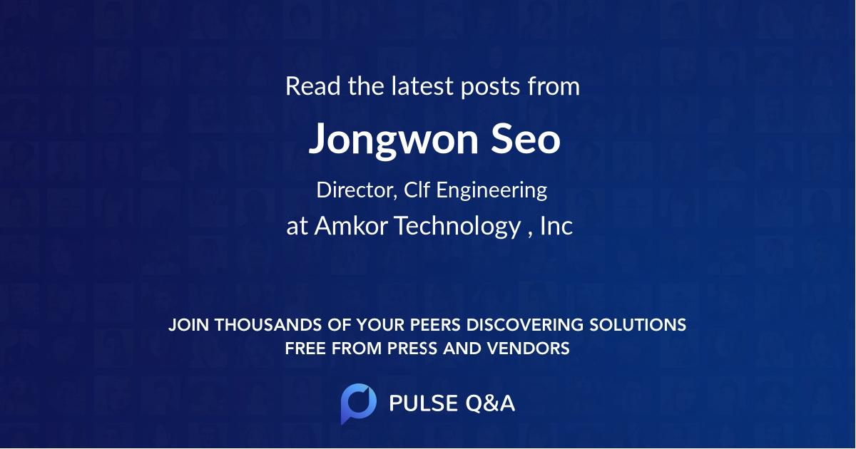 Jongwon Seo
