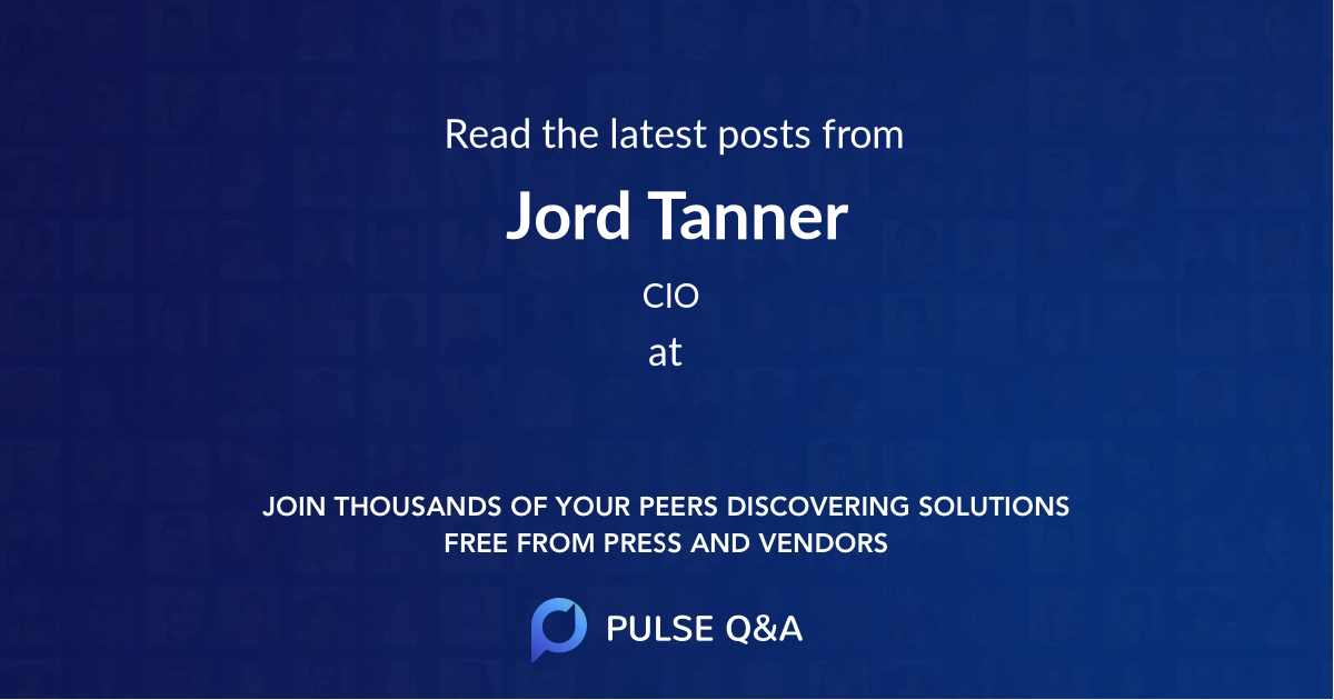 Jord Tanner