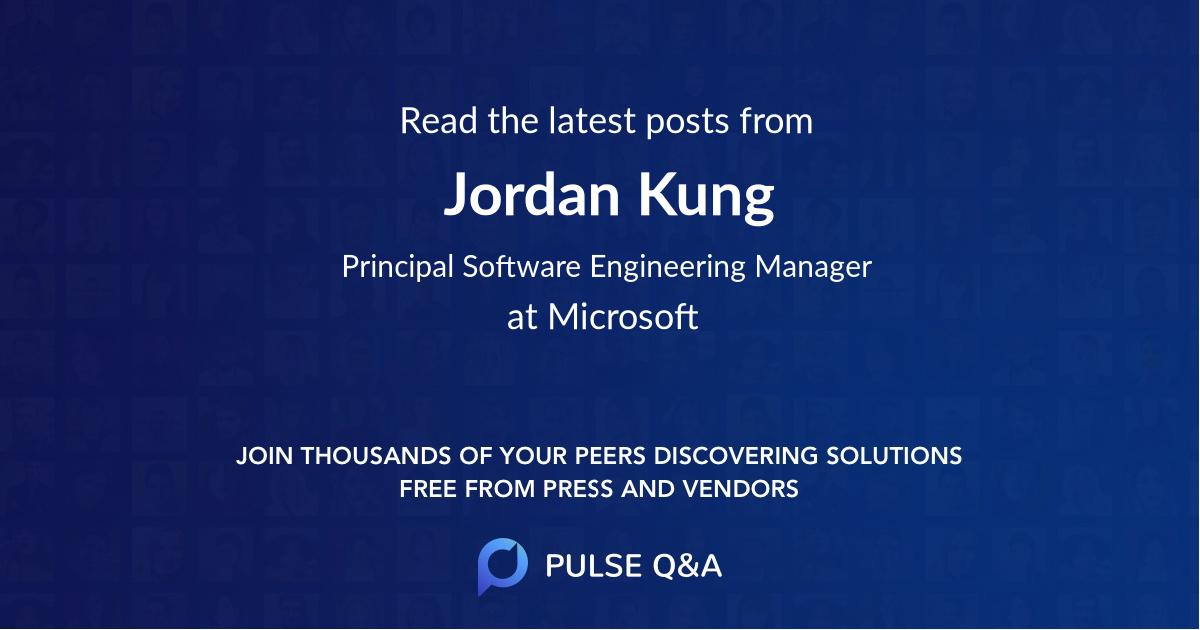 Jordan Kung