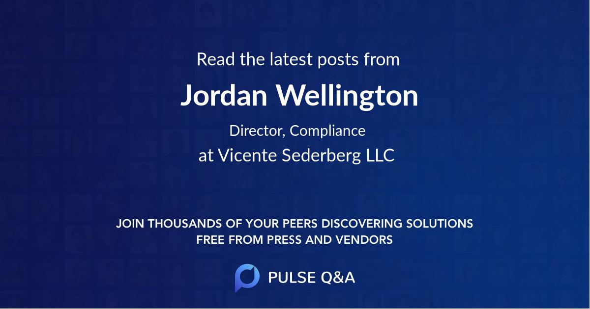 Jordan Wellington