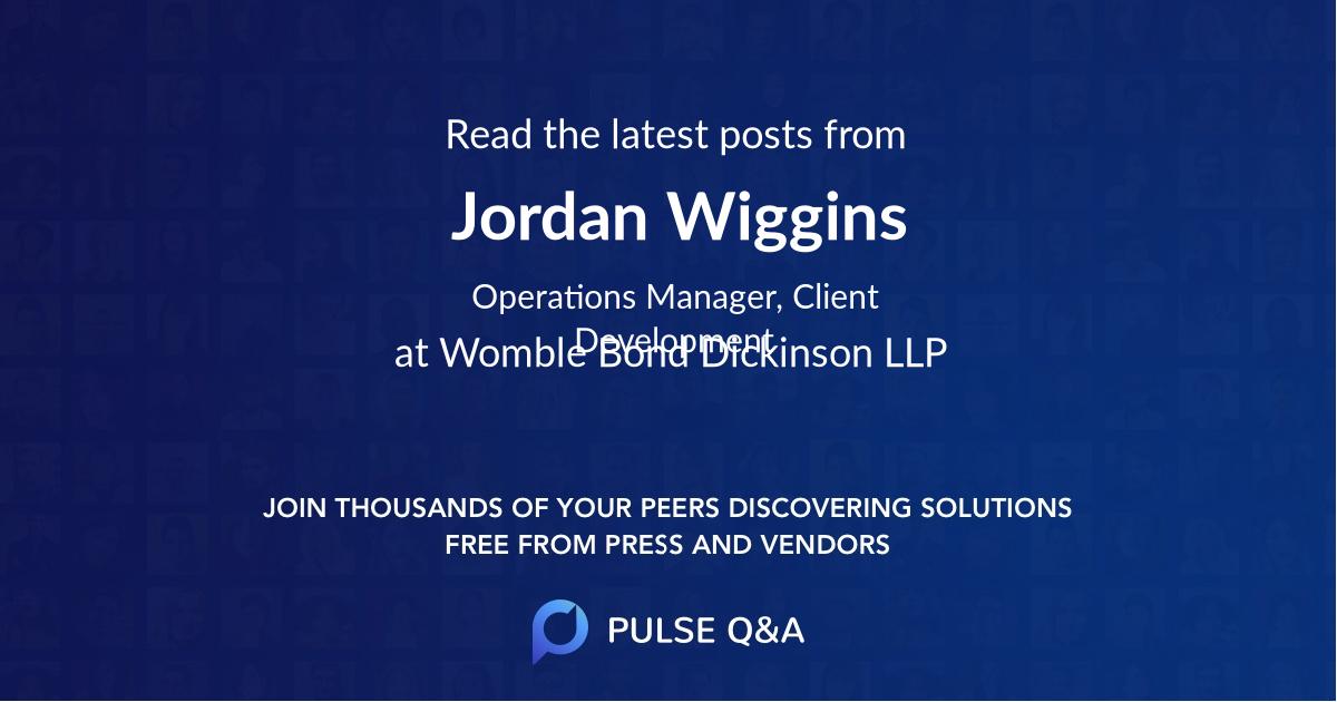 Jordan Wiggins