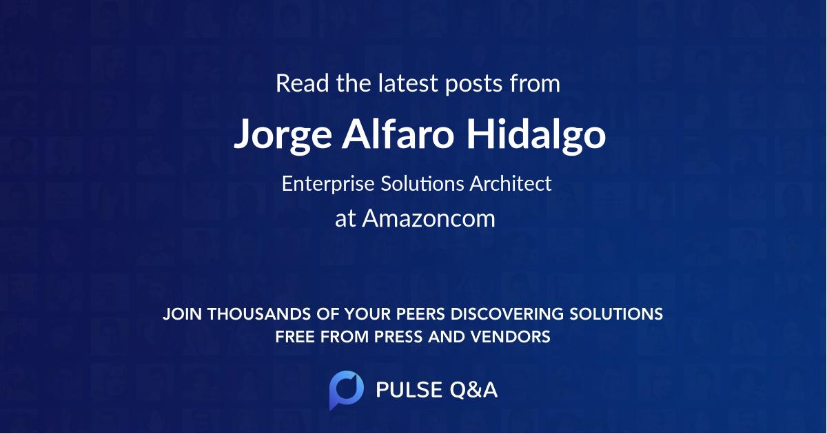 Jorge Alfaro Hidalgo
