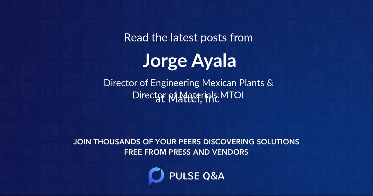 Jorge Ayala