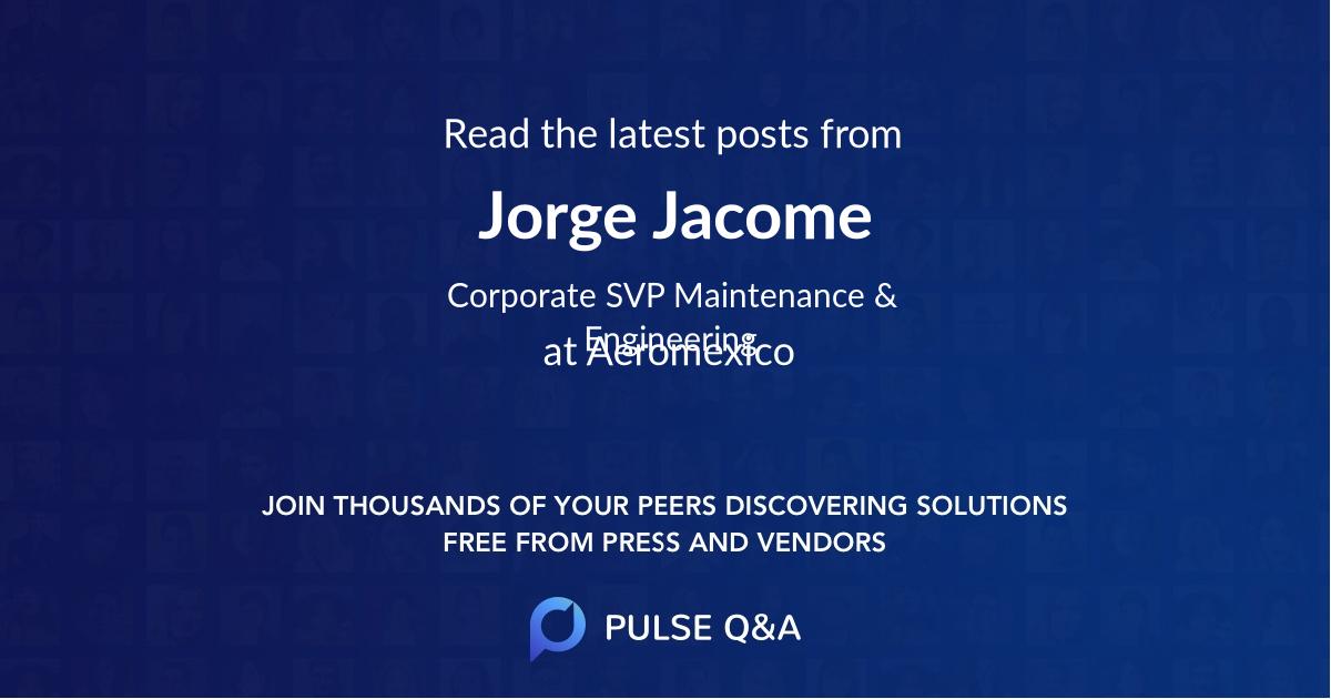 Jorge Jacome