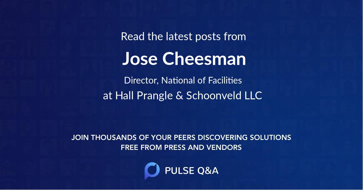 Jose Cheesman