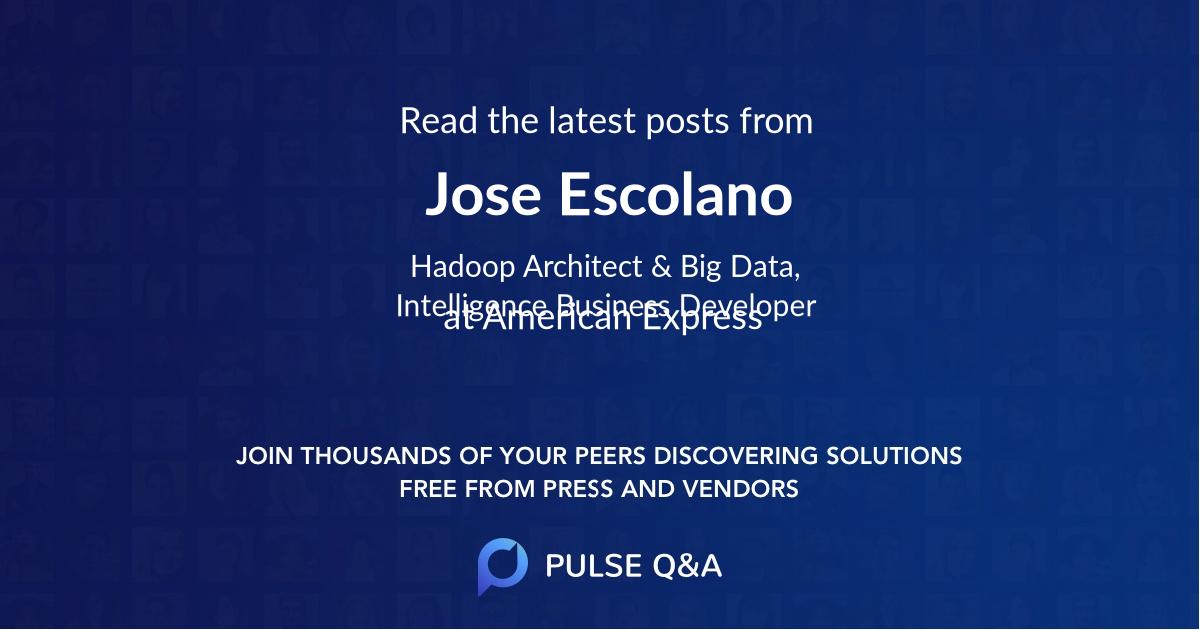 Jose Escolano