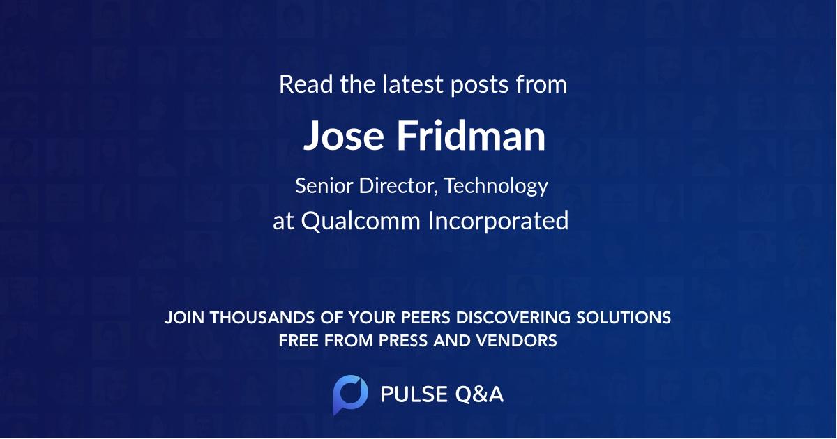 Jose Fridman
