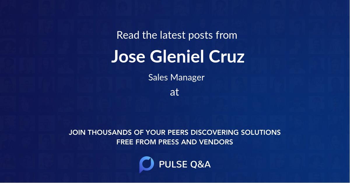 Jose Gleniel Cruz