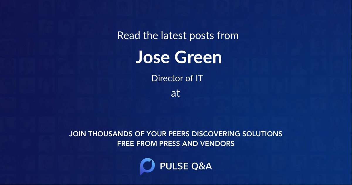 Jose Green