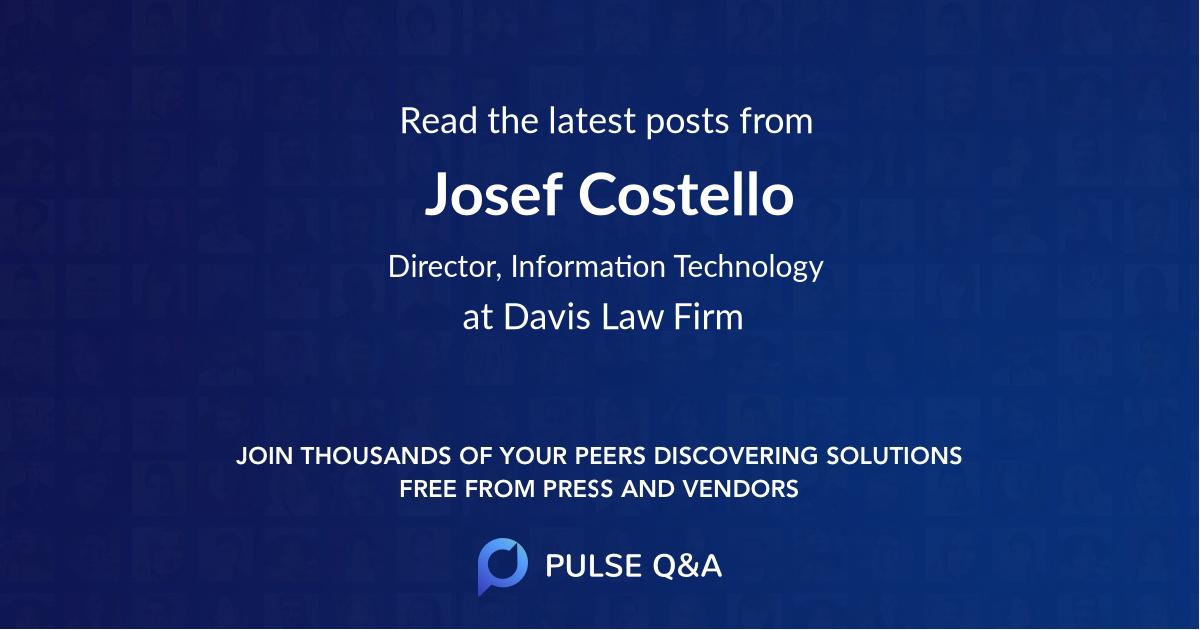 Josef Costello