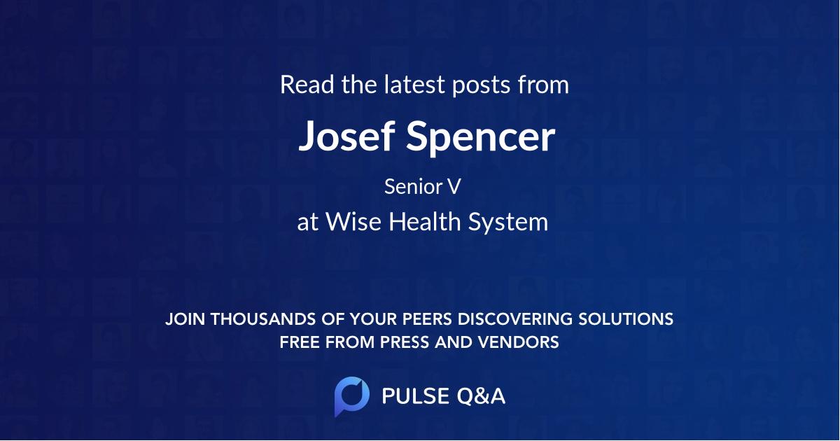 Josef Spencer