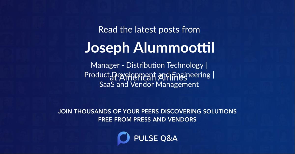 Joseph Alummoottil
