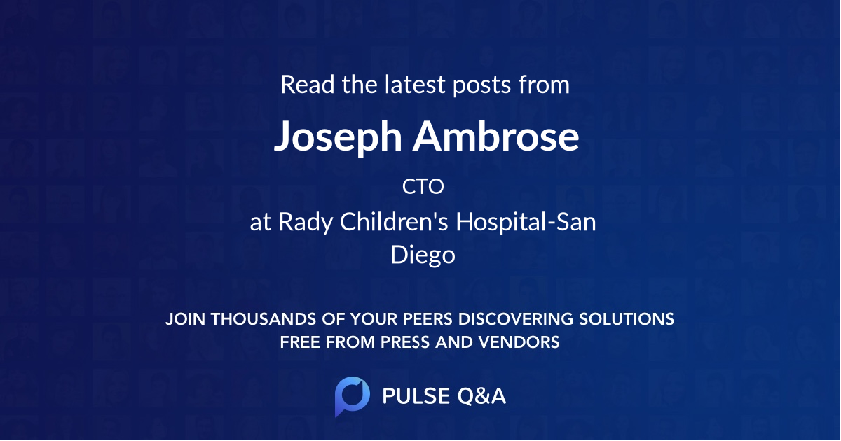 Joseph Ambrose