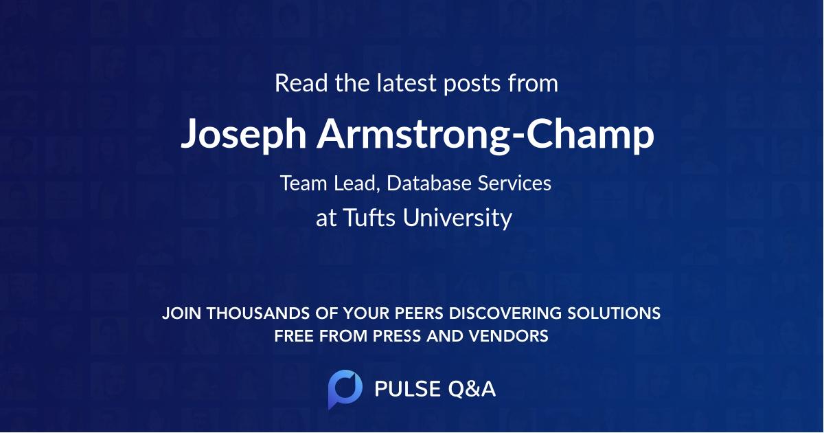 Joseph Armstrong-Champ