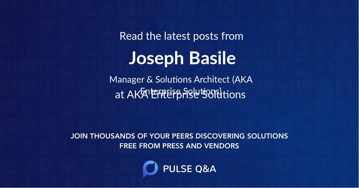Joseph Basile