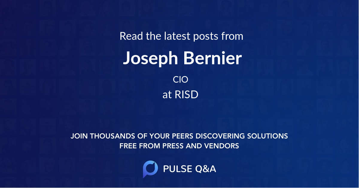 Joseph Bernier