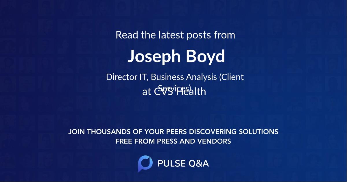 Joseph Boyd