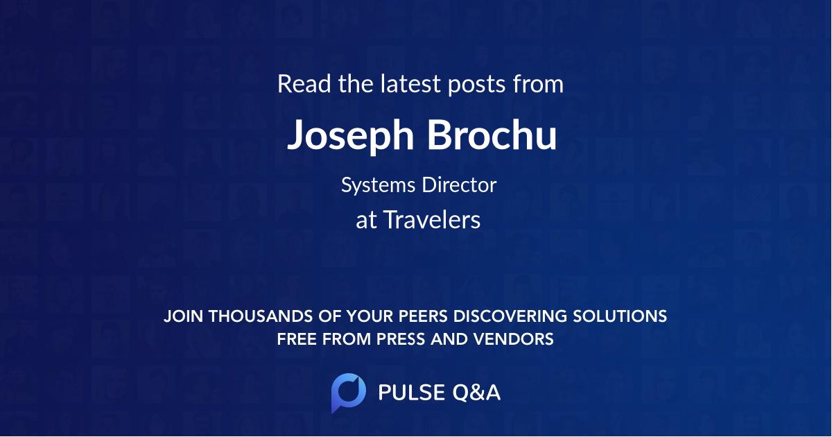 Joseph Brochu