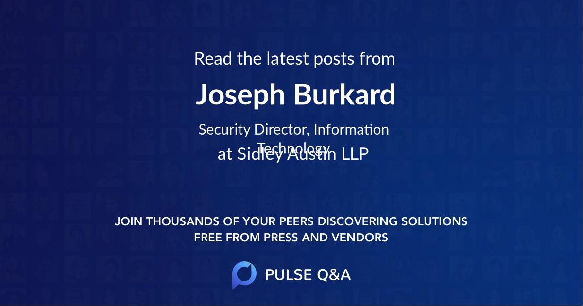Joseph Burkard