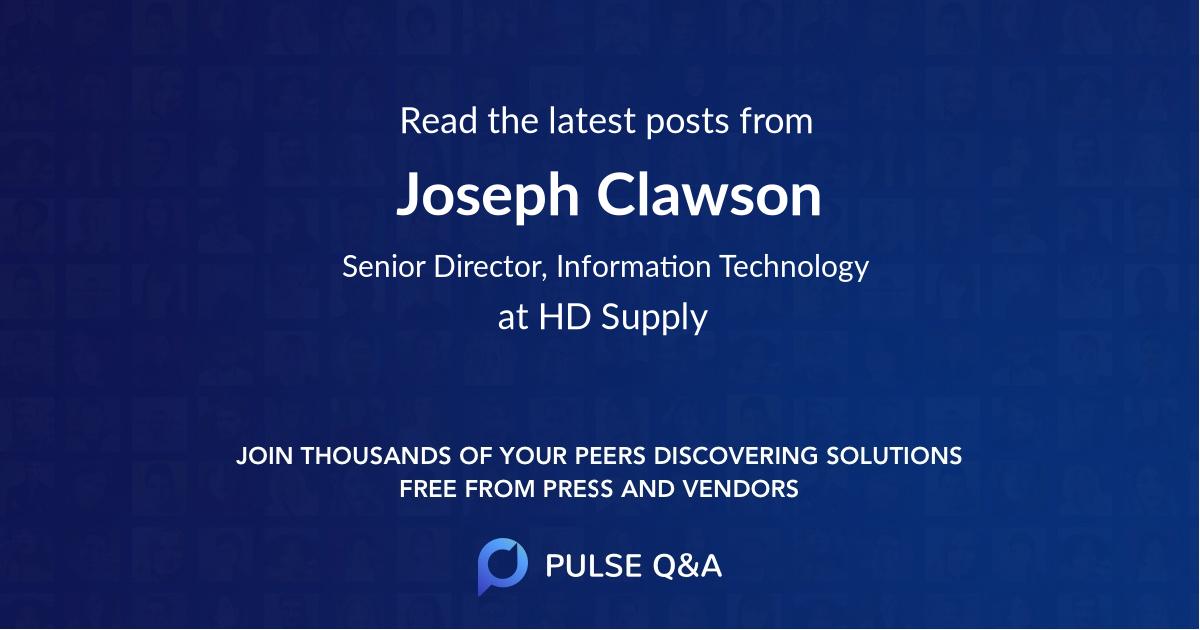 Joseph Clawson