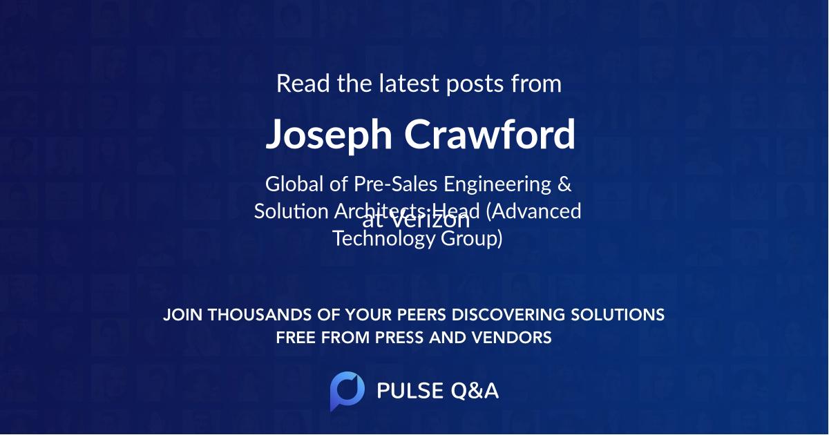 Joseph Crawford