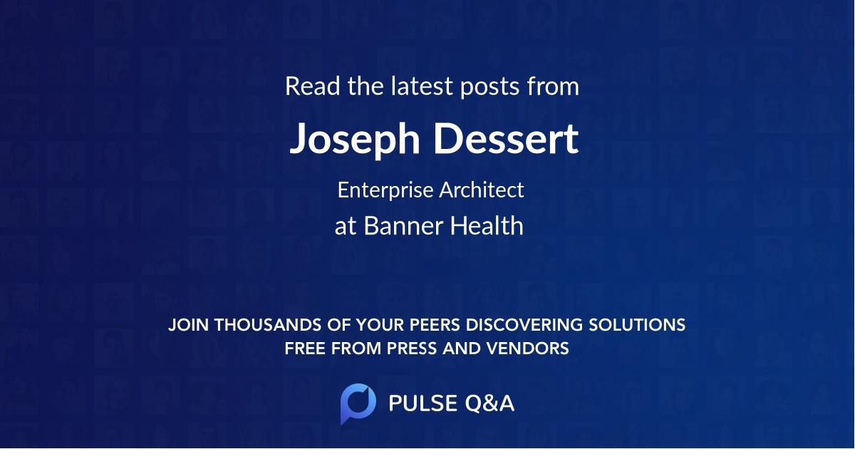 Joseph Dessert