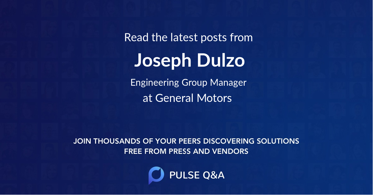 Joseph Dulzo
