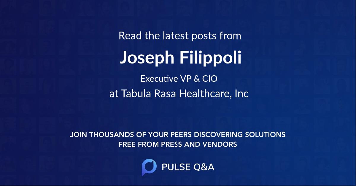 Joseph Filippoli