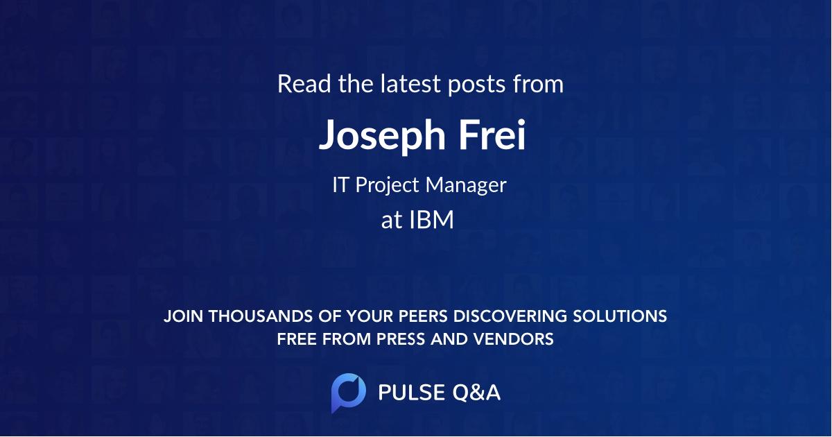 Joseph Frei
